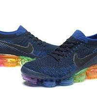 Men's Rainbow Air Vapor Max Flyknit Running shoe