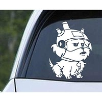 Rick and Morty - Snuffles / Snowball Die Cut Vinyl Decal Sticker