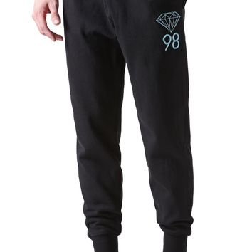 Diamond Supply Co Diamond 98 Sweatpants - Mens Pants - Black