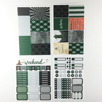 ECLP | Harry Potter | Slytherin House Weekly Kit | 140 stickers