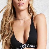 Los Angeles Graphic Bralette