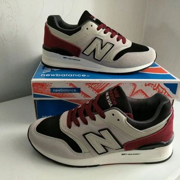 """""""New Balance 997"""" Men Sport Casual N Words Multicolor Sneakers Fashion Running Shoes"""