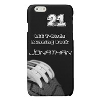B&W Football iPhone Cases