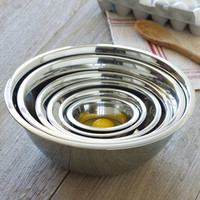 CHEFS Stainless-Steel Mixing Bowls | CHEFScatalog.com