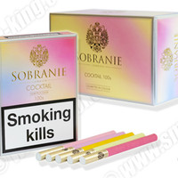Sobranie Cocktail Cigarettes - Pack of 20 - Smoke-king Family run Specialist Tobacconist Est:1989