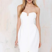 Keepsake Divide Strapless Dress