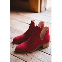 Pronto Ankle Boot, Red   Coconuts by Matisse