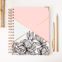 2018 Classic Planner – Monogrammed in Pink