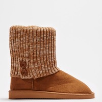 Camel 2-Button Sweater Cuff Solemate | Winter Boots | rue21