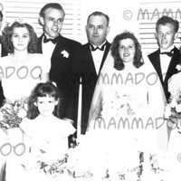 Digital Photo 1948 Wedding, Scrapbooking, Journals, Altered Arts, Mixed Media, Mail Art, Vintage Photo