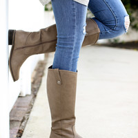 Preppy Rider Boot – Biege