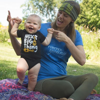 NEW! Next Big Thing Organic Baby Onsie Bodysuit -2 Sizes Available