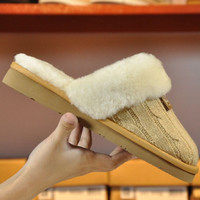"""UGG"" Women Casual Wool Slipper Shoes"
