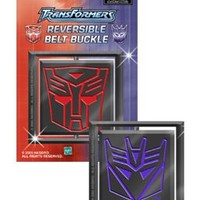 Transformers Reversible Belt Buckle Autobot Decepticon