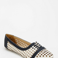 Urban Outfitters - Cooperative Lattice Lace-Up Flat