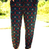 Part Of The Tribe Pants: Multi