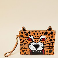 Paperchase Safari Summer Tiger Pouch at asos.com