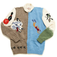Mary Mash Up Diver Sweater