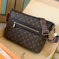 LV Louis Vuitton New fashion monogram tartan leather shoulder bag women crossbody bag