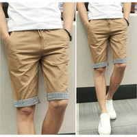 Slim Fit Casual Shorts