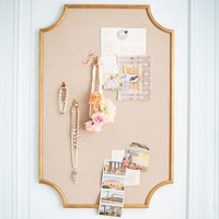 The Emily & Meritt Scallop Statement Pinboard