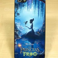 Princess Tiana and Frog Design for iPhone 4/4S/5 Case, Samsung Galaxy S3/S4 Case