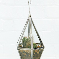 Urban Grow Terrarium Hanging Planter in Silver - Urban Outfitters