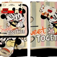 Disney Minnie Mouse and Mickey Mouse - Sweet Together 4 Piece Kitchen Set