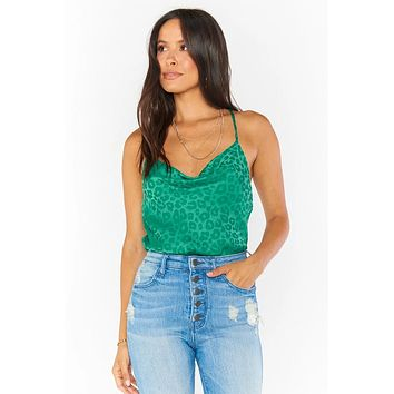 Diane Bodysuit Green