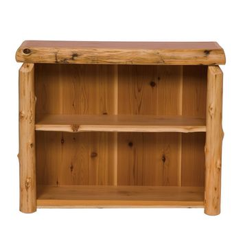 Rustic Cedar Small Bookshelf