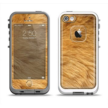 The Golden Furry Animal Apple iPhone 5-5s LifeProof Fre Case Skin Set