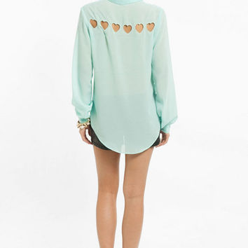 Hearts About Blouse $42