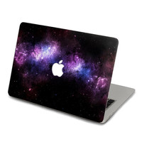 Purple Nebula Macbook decal,Keyboard Decals,Pro Keyboard Skin,Air Sticker,apple wireless keyboard,Macbook vinyl stickers J-012