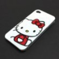 Hello Kitty Hard Case Cover for iphone 4 4G
