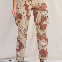 Vintage Stonewashed Camo Surplus Pant | Urban Outfitters