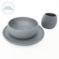 Matte Porcelain USA Made Dinnerware Set