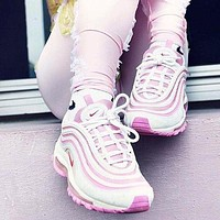 NIKE AIR MAX 97 fashion ladies casual air cushion running sneakers