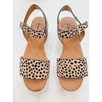 Sol Wedge Espadrille Sandals (Cheetah)