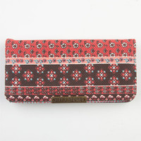 Billabong Sequin Spice Wallet Red Combo One Size For Women 23041034901
