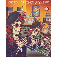 Grateful Dead Artists Society 1991 Poster 24x30