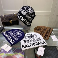Balenciaga knit hat