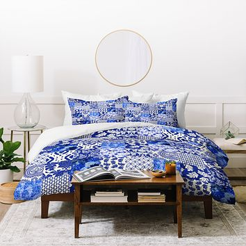 Aimee St Hill Blue Is Just A Mood Duvet Cover