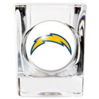 Personalized NFL Shot Glass - Chargers
