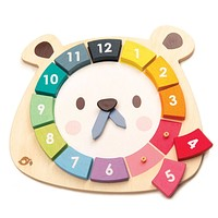 Tender Leaf Toys Bear Colors Clock