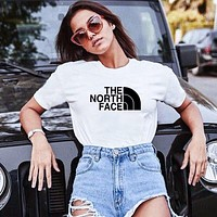TNF The North Face Half Dome new printed letter couple short sleeve T-shirt