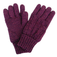 Twisted Cotton Gloves [9042041604]