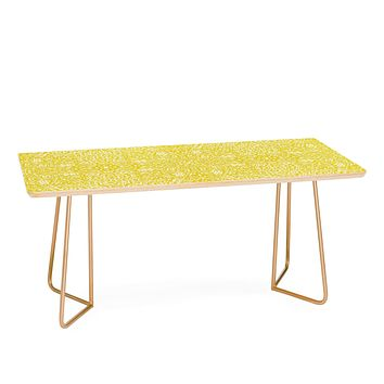 Aimee St Hill Amirah Yellow Coffee Table