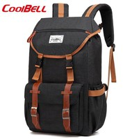 Cool Backpack school COOLBELL newst For 17.3 inch laptop bag Outdoor travel large capacity casual computer Backpacks  shipping AT_52_3