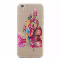 Back For Apple iPhone Designed Hard Fashion Various Case Cover Transparent Cute