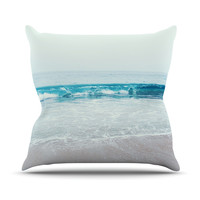 "Nastasia Cook ""Crystal Clear"" Throw Pillow, 16"" x 16"" - Outlet Item"